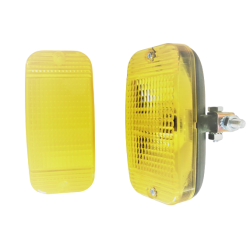 Lampa żółta TALMU cytryna...
