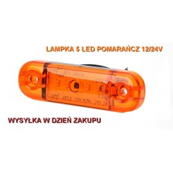Lampa obrysowa pomarańczowa...