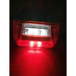 LAMPKA OBRYSOWA PRZEDNIO-TYLNA  6 LED 12/24V