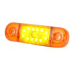 Lampa oświetlenia wnetrza  12 led 12V natynkowa biały odbłyśnik