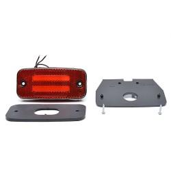 Śruba długa czerwona Fiat 125p 126p