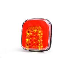 LAMPA BŁYSKOWA KOGUT 60 LED FLUX 12-24V