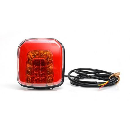 Fiat 126p FL  Lampka Lampa oświetlenia podświetlenia tablicy rejestracyjnej z przewodem LT 072