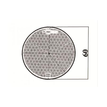Trójkąt odblaskowy przyczepy z otworami na sruby