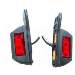 LAMPA COFANIA I PRZECIWMGŁOWA  24V  29 LED klosz wymienny